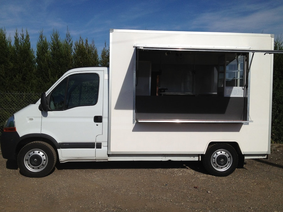 camion fast food a vendre